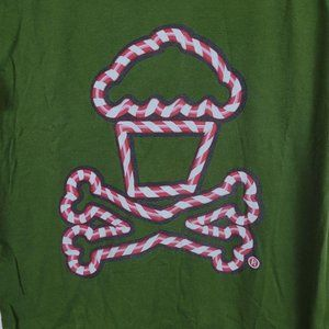 Johnny Cupcakes CANDY CANE Small Crossbones
